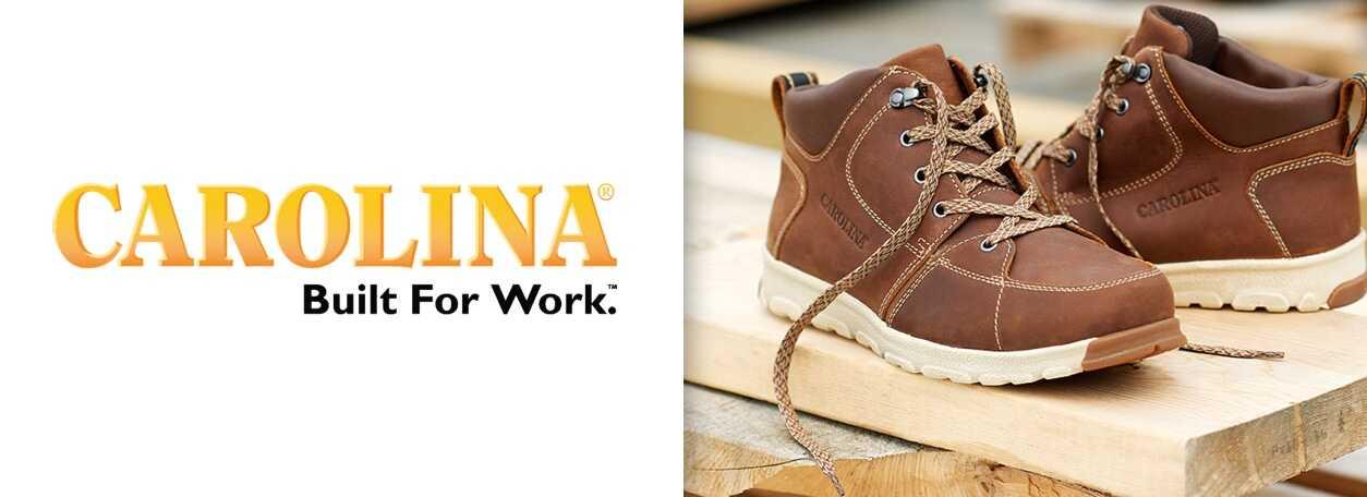 Carolina Boots logo with boots