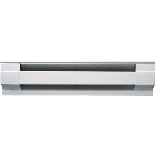 Cadet 60 In. 1250-Watt 240-Volt Electric Baseboard Heater, White