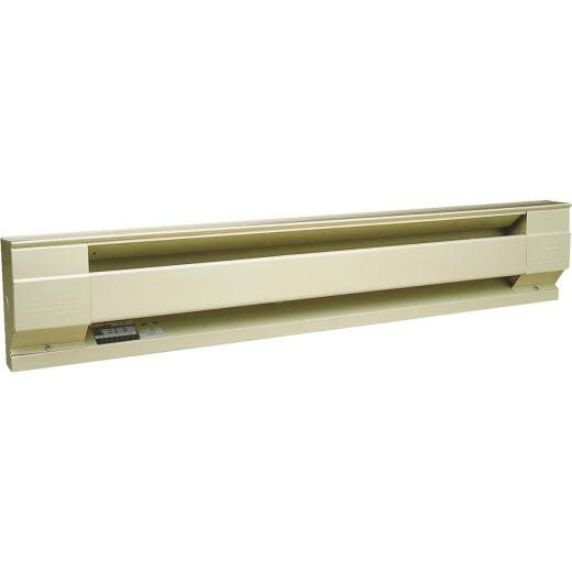 Cadet 72 In. 1500-Watt 240-Volt Electric Baseboard Heater, Almond