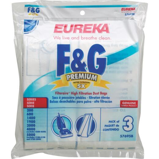 Eureka Filteraire Type F&G High Filtration Vacuum Bag (3-Pack)